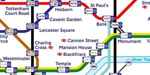 This Tube Map Shows WiFi Speeds Across Zone 1 London Underground Stations
