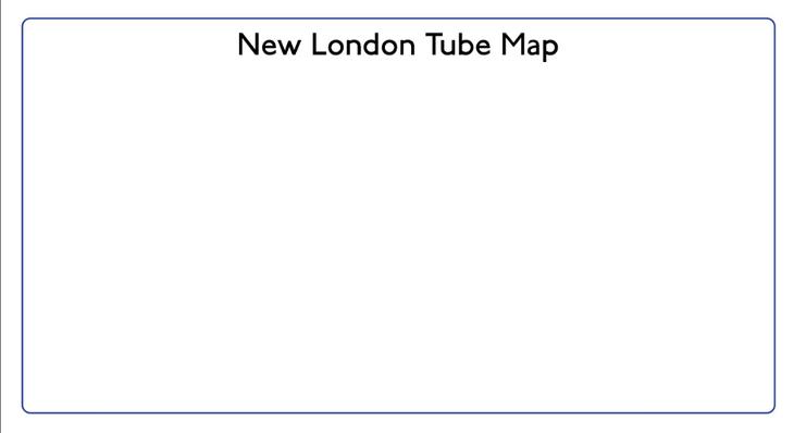 Blank tube map