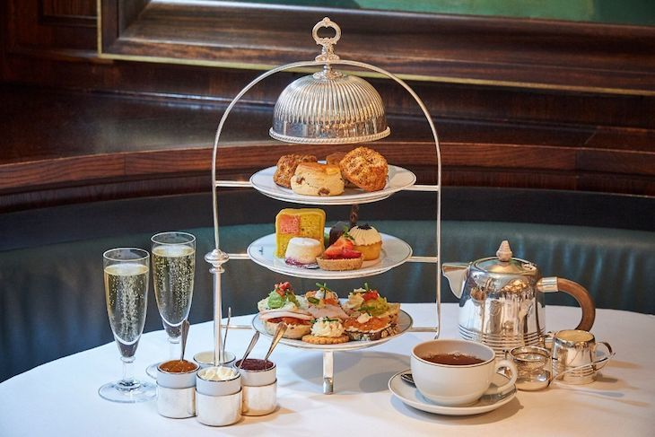 Unusual afternoon teas in London: Viennese cakes and sweet treats at The Delaunay