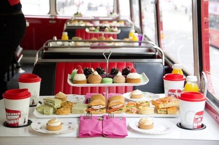London's most unusual afternoon teas: have you ever enjoyed afternoon tea on a double decker bus?