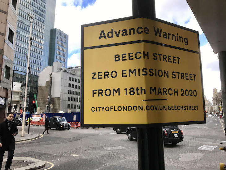 Closure of Beech Street to polluting vehicles