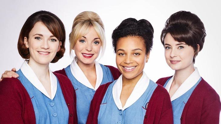 Call The Midwife, set in London, is one of the best shows available on Netflix