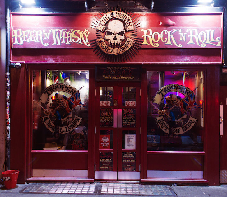 Crobar is undoubtedly one of the best dive bars in London, full of metal-heads and good times