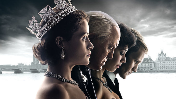 The Crown, one of the best shows on Netflix set in London