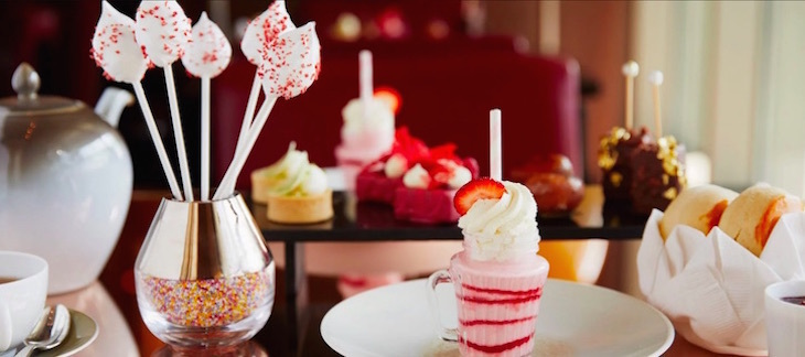 American-themed afternoon tea at London's 45 Park Lane