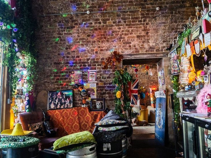 Little Nan's Bar is full of higgeldy-piggeldy charm and may be south London's best dive bar