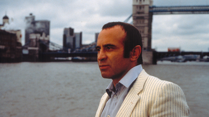 Bob Hoskins in London-based Long Good Friday, available on Amazon Prime