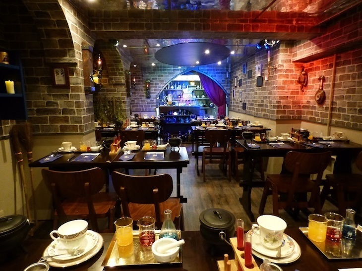 Harry Potter-themed afternoon tea at London's Cutter & Squidge
