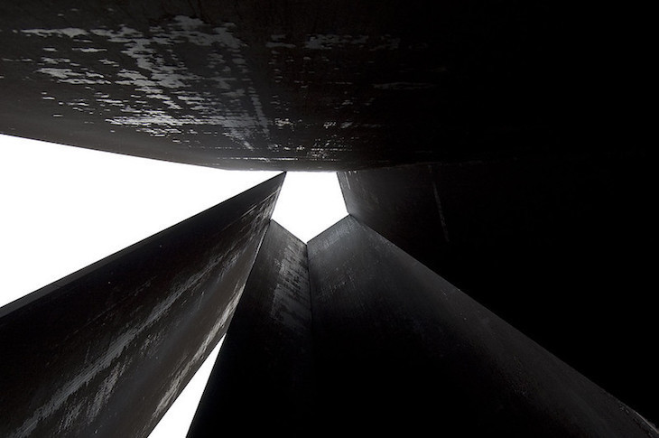 Fulcrum by Richard Serra is one of the best modern sculptures in London