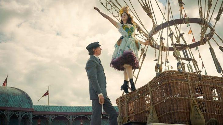 Felicity Jones and Eddie Redmayne in The Aeronauts on Amazon Prime