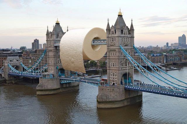 tower bridge toilet roll