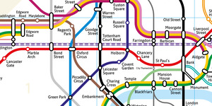 A New Geographically Accurate Tube Map