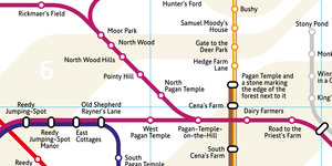 This London Tube Map Tells You Where The Station Names Originated