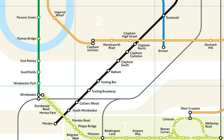 London tube map by Mark Noad