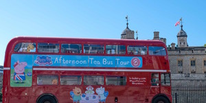 All Aboard! Peppa Pig Afternoon Tea Bus Launches In London