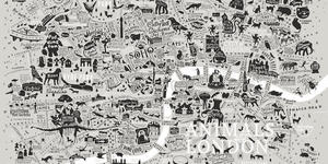 This Incredibly Detailed London Map Highlights The Capital's Wild Side
