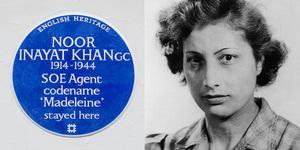 War Hero Noor Inayat Khan Commemorated With Blue Plaque