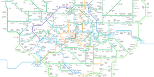 The Greenground: The 'Walker's Tube Map' Has Flourished Into Something Beautiful