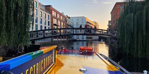 The Electric Barge Is Back, With New Scenic Boat Trips Along London's Waterways