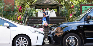 These Couples Just Got Hitched In London's First Ever Drive-Through Weddings