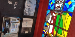 The Stained Glass Phone Box Of Embankment