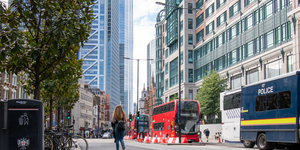 Bishopsgate Has Just Become A Whole Lot Friendlier To Cyclists And Pedestrians