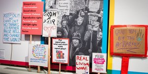 A Punchy Exhibition At British Library On Women's Rights
