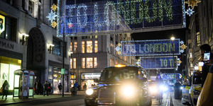 Oxford Street's Christmas Lights Are Up... And They've Got A Heartwarming Twist