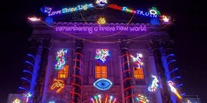 Tate Britain's Festive Display Is The Beacon Of Light We All Need