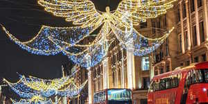 In Photos: London's 2020 Christmas Lights