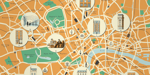 Walk In The Footsteps Of George Smiley With This John Le Carré Map