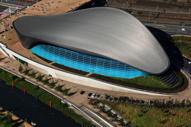London Aquatic Centre by Zaha Hadid