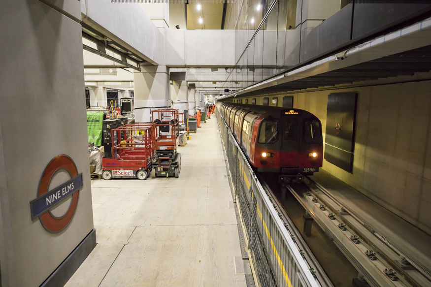 Trial Journeys Have Already Begun On The New Northern Line Extension