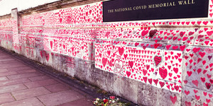 This Southbank Mural Pays Tribute To The Victims Of COVID-19 In The UK