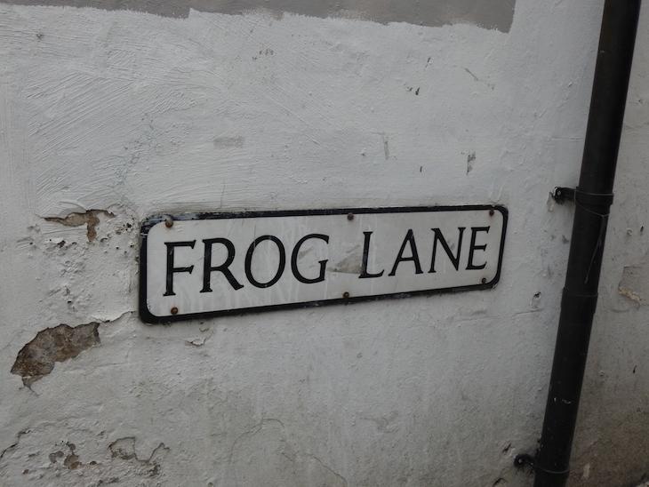 Frog Lane in Tunbridge Wells, Kent