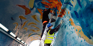 Lewisham School Of Muralism's Brightening The Streets Of South London