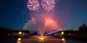An Evening Of Flowers And Fireworks Inside These Enchanting Royal Gardens