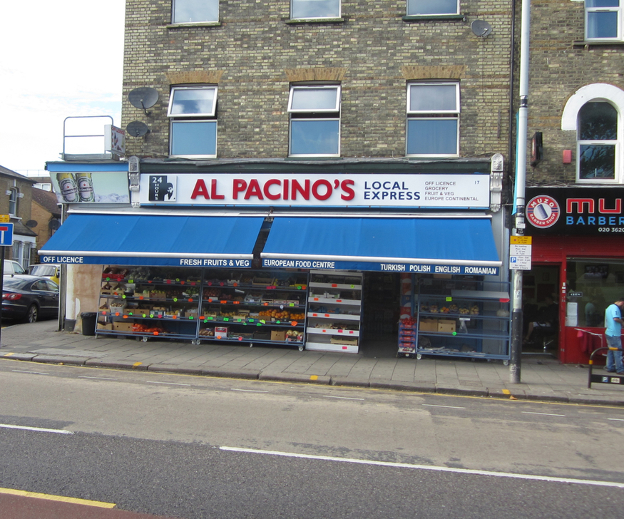 Al Pacino's local express, formerly in Bounds Green