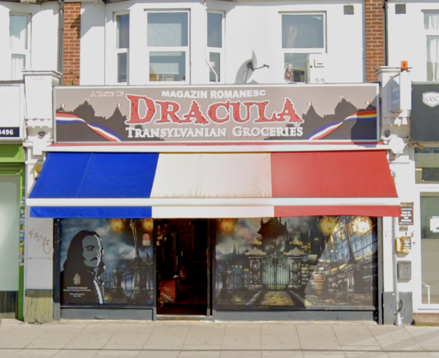 Dracula grocery store