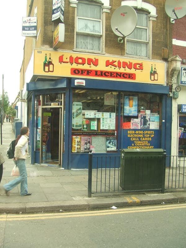 Lion King off licence