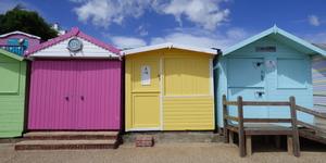 Beach (Hut), Please: The Pastel Palette Of Walton-On-The-Naze