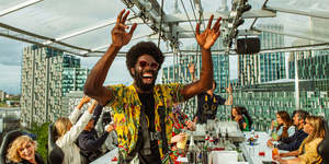 Dine Suspended 100 Feet In The Sky Above Greenwich This Summer