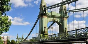 Hammersmith Bridge Has Reopened To Pedestrians And Cyclists