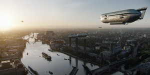 When Airships Filled The London Skies