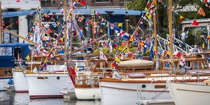 Dozens Of Vintage Boats Will Moor Up Near Tower Bridge This September