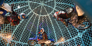 Review: Globe Of Death Wows Crowd As Circus Returns To London