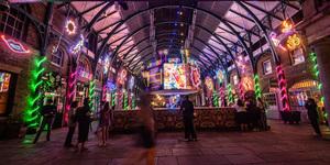 Covent Garden Market Is Now A Neon Wonderland