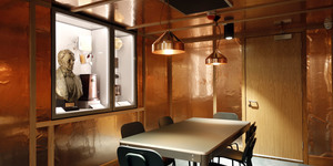 London's Newest Library Has A Copper Lined Room That Blocks Messages And Emails