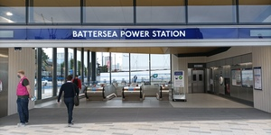 In Pictures: The Brand New Battersea Power Station And Nine Elms Tube Stations