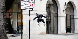 A Skatepark Takes Over Part Of The Strand This Month